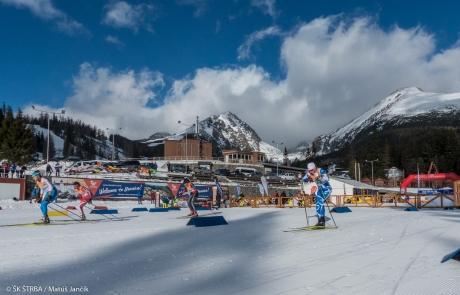 Na Štrbskom Plese pretekársku sezónu otvoril Tatranský pohár v behu na lyžiach s rekordnou účasťou športovcov a trojnásobným víťazstvom Aleny Procházkovej