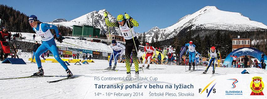 Tatranský pohár v behu na lyžiach 14.-16. február 2014