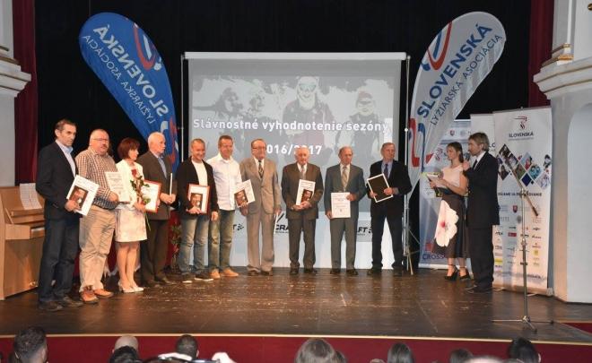Slávnostné vyhodnotenie Slovenského pohára v behu na lyžiach 2016/2017