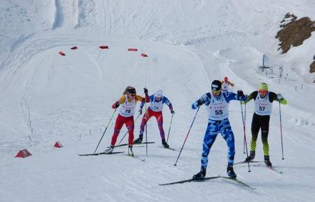 Na Štrbskom Plese sa súťažilo v behu na lyžiach o slovenské majstrovské tituly