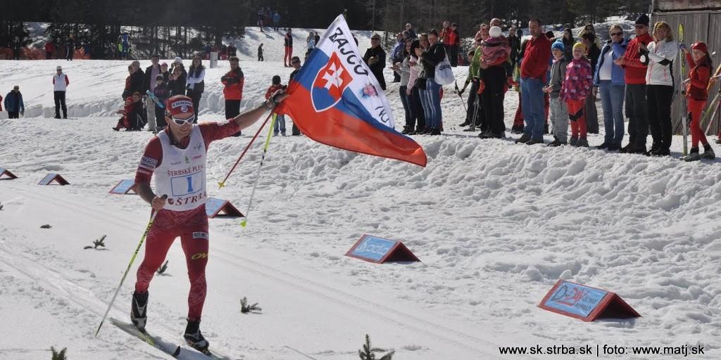 Majstrovstvá SR v behu na lyžiach 2012