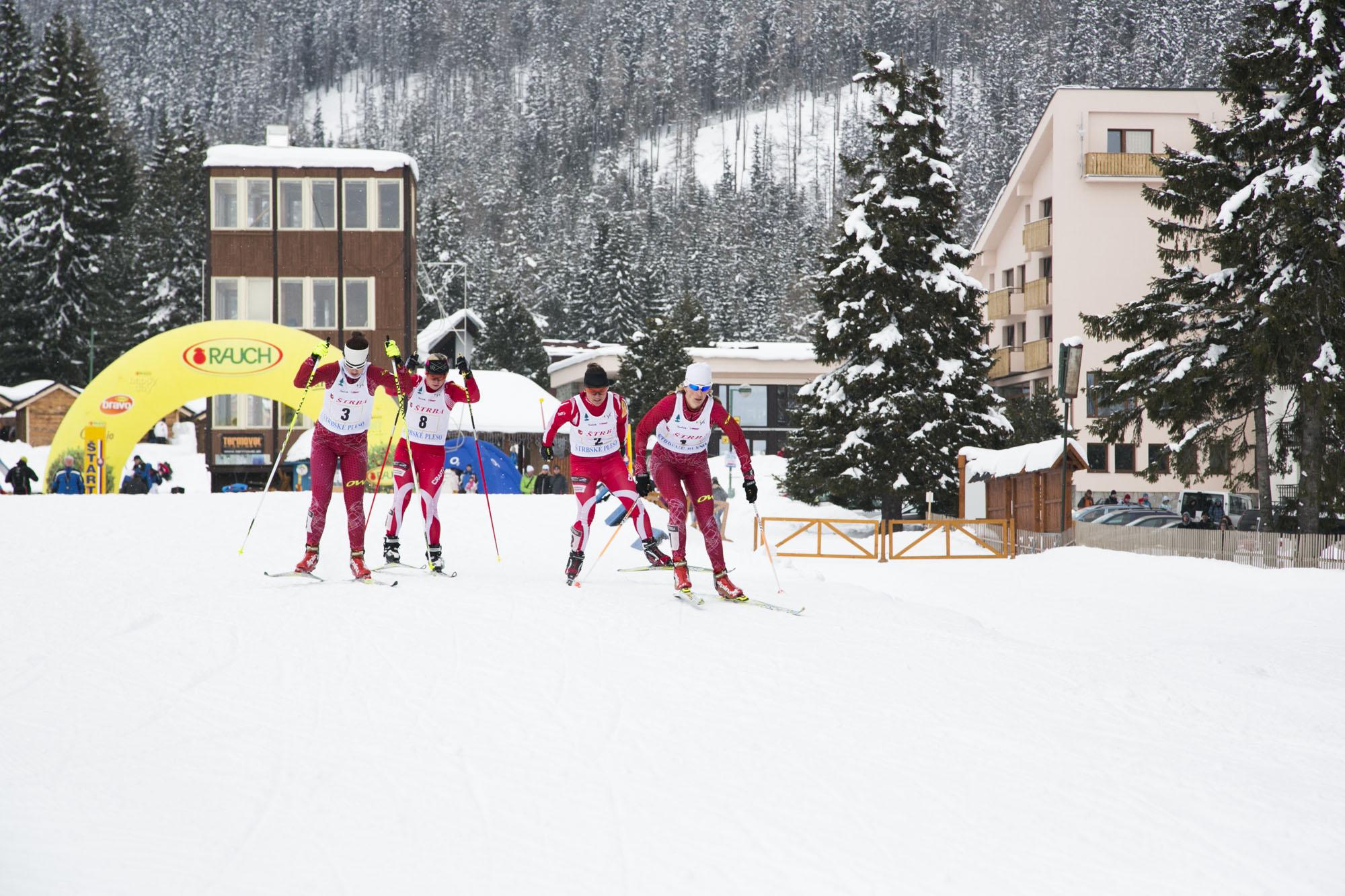 40. ročník Tatranského pohára v behu na lyžiach – šprint voľnou technikou