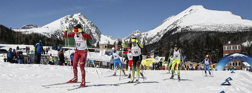Majstrovstiev Slovenskej republiky v behu na lyžiach sa zúčastnili biatlonisti aj členovia hudobnej skupiny No Name