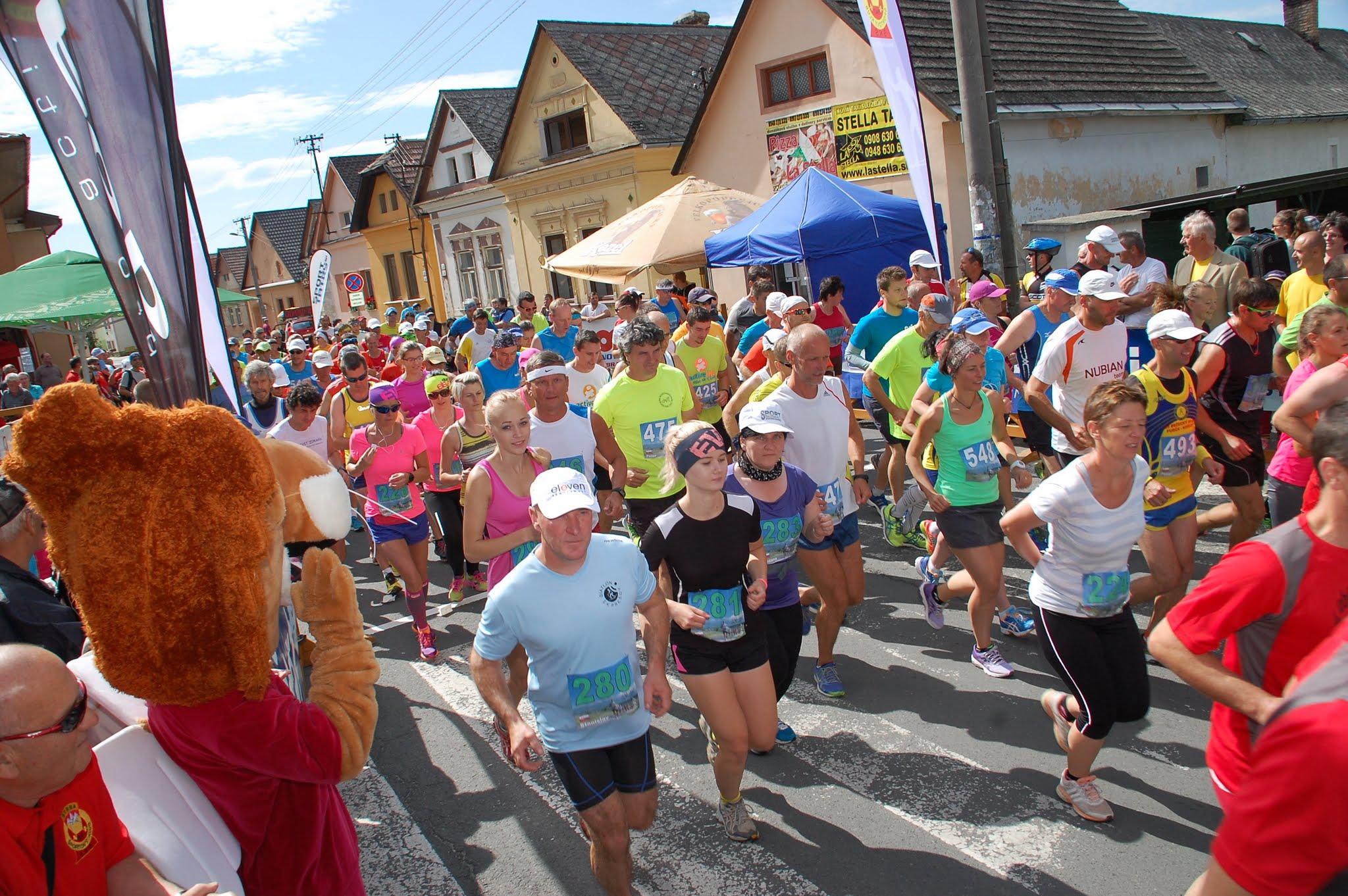 38. ročník Malého štrbského maratónu s rekordným počtom bežcov