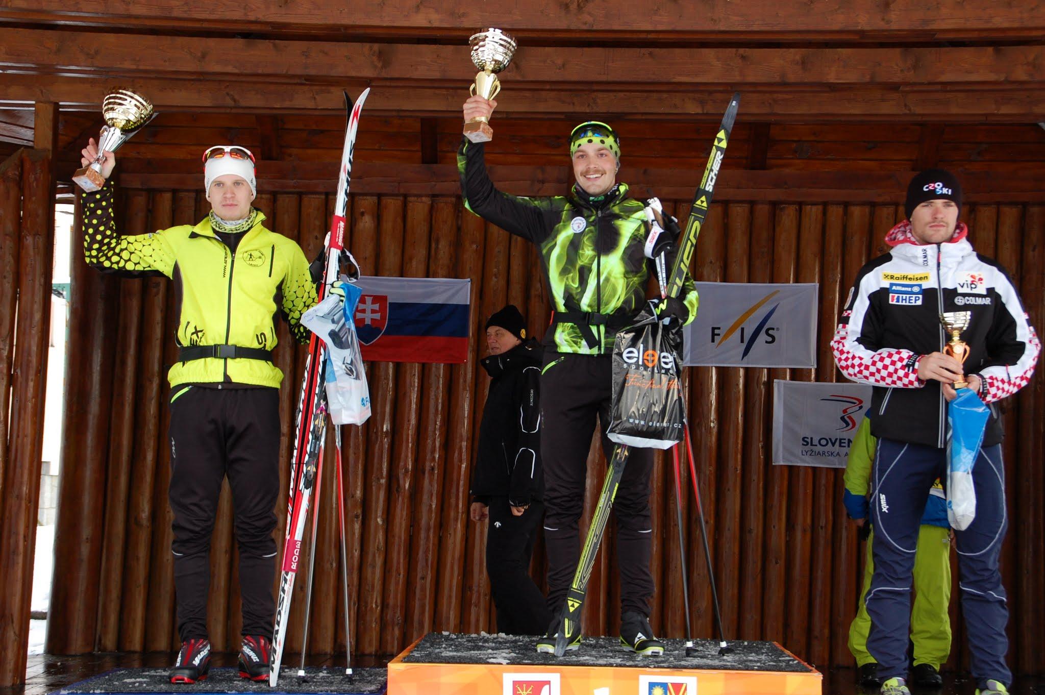 V 43. ročníku Tatranského pohára v behu na lyžiach si ocenenia odniesli aj Slováci