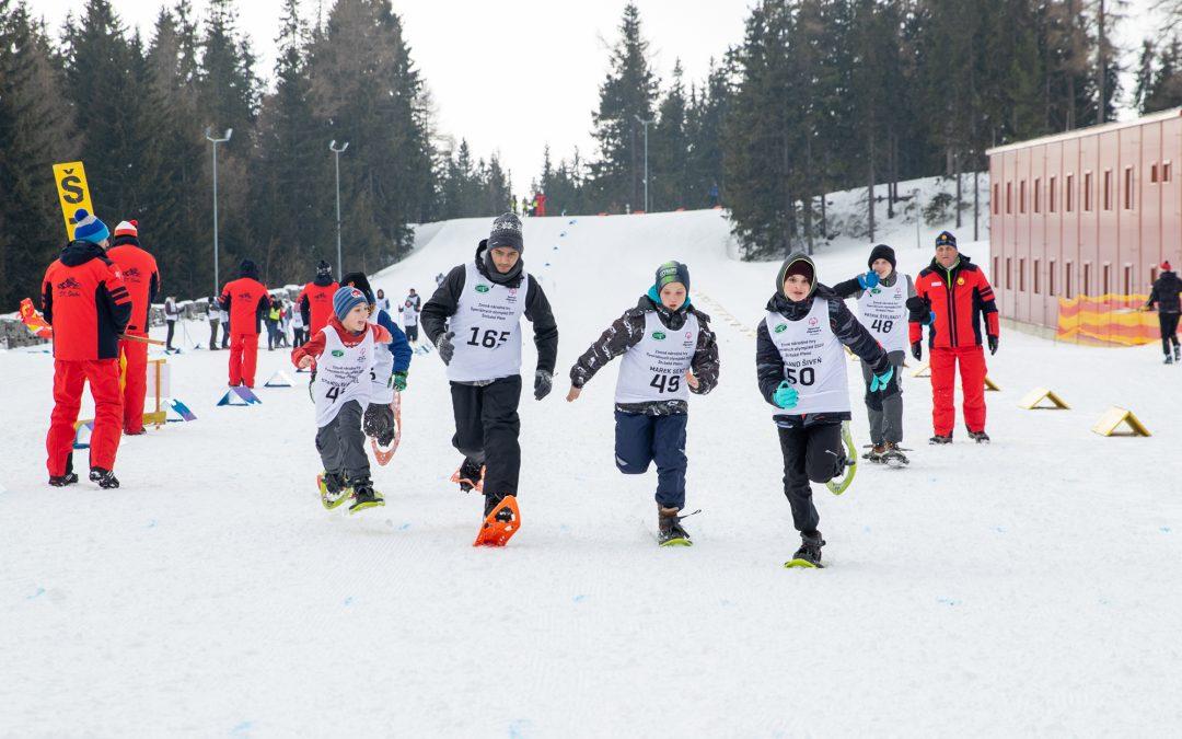 Špeciálne olympiády usporiadali prvýkrát Zimné národné hry v piatich športoch. Rozhodcovia ŠK Štrba asistovali v areáli bežeckého lyžovania.