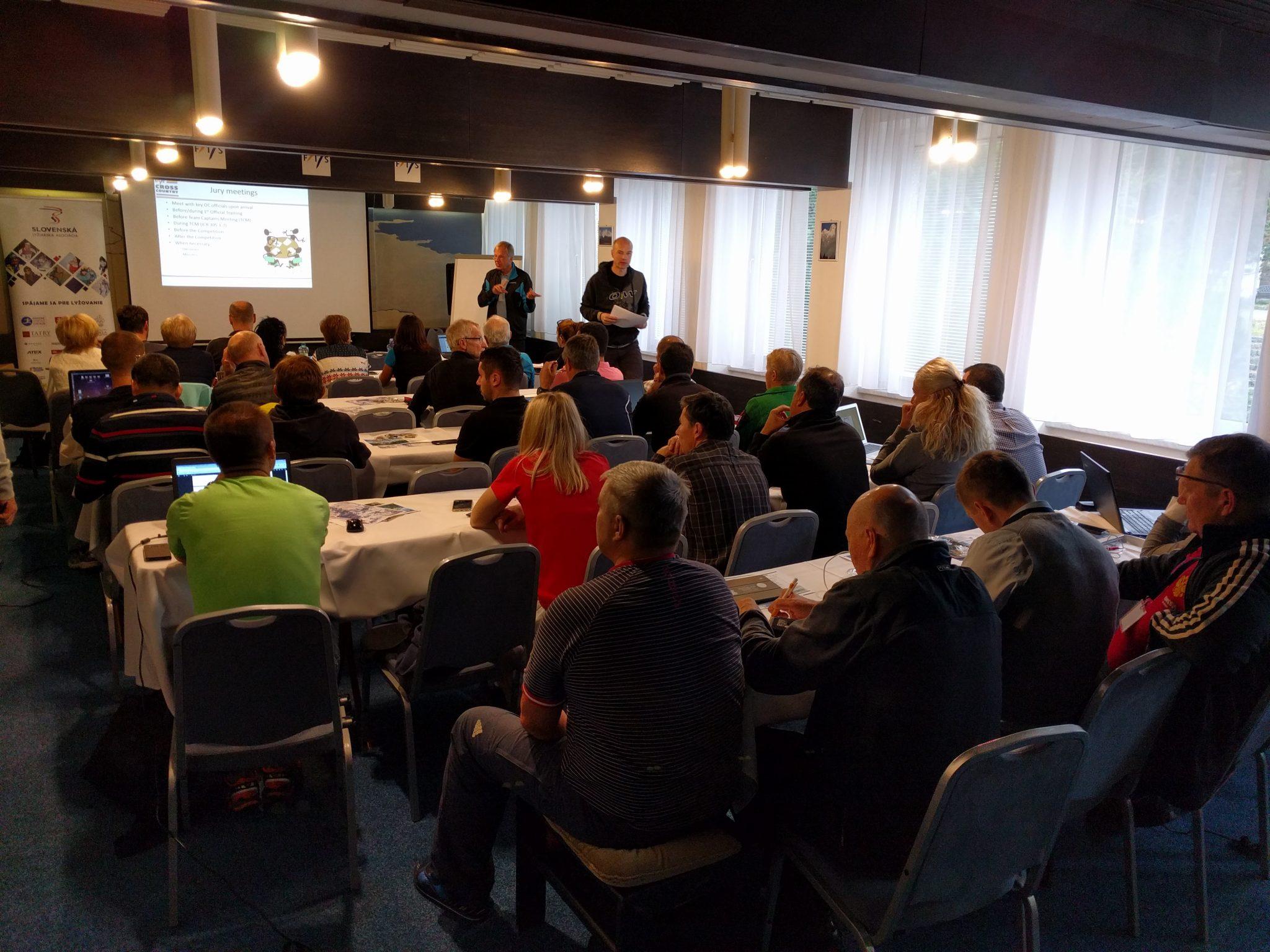 Na Štrbskom Plese sa vzdelávali technickí delegáti FIS z 15 krajín