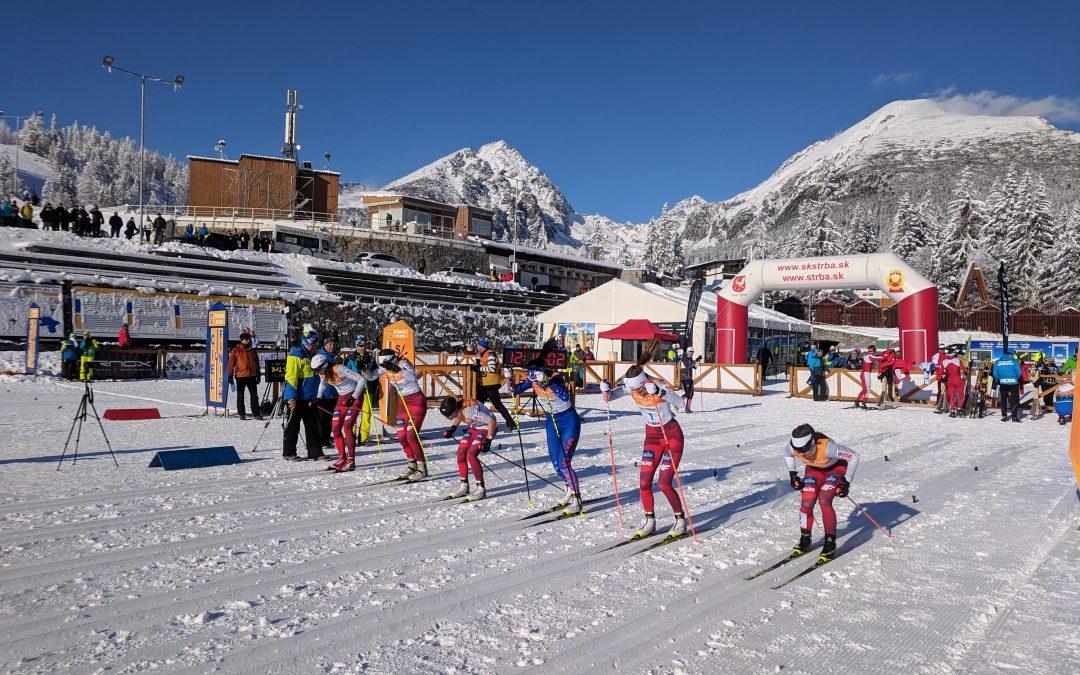 Lyžiarsku sezónu na Štrbskom Plese úspešne otvoril 46. ročník Tatranského pohára v behu na lyžiach