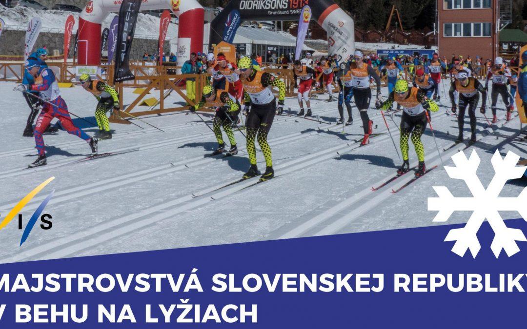 Medzinárodné Majstrovstvá Slovenskej republiky v behu na lyžiach budú opäť na Štrbskom Plese